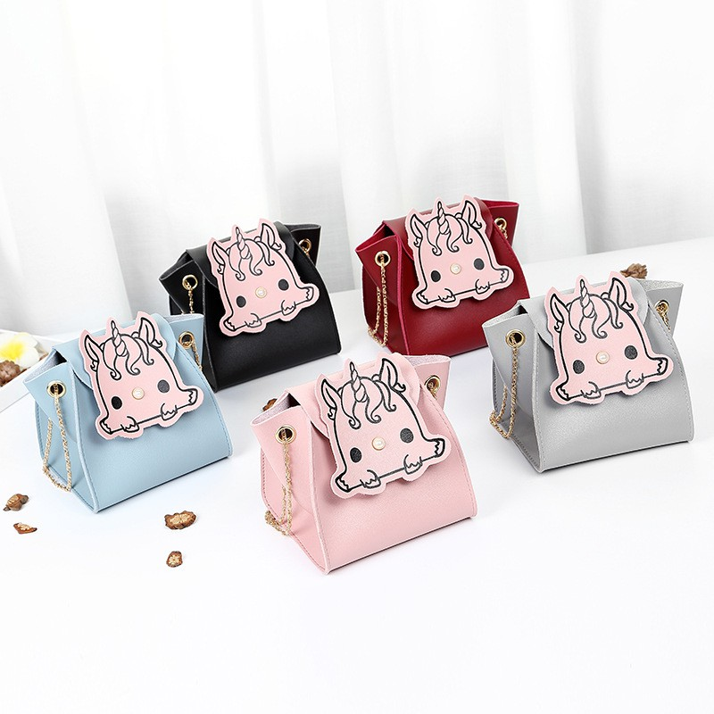 Mini Unicorn Sling Bag Shoulder Handbag Beg Bags